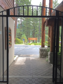 Secure, gated entryway